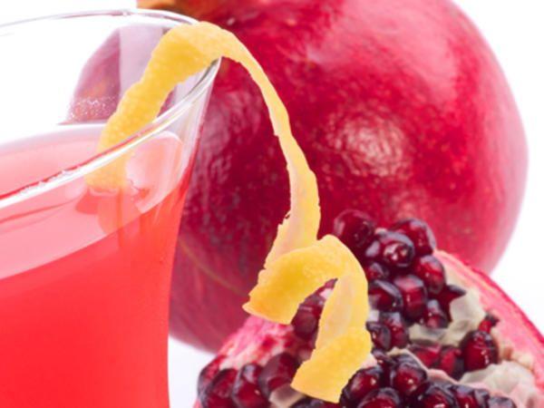 Juice med granatäpple