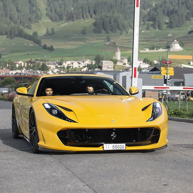 812 Superfast Yellow Superstar With Images Super Luxury