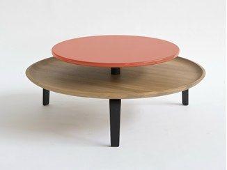 Low round coffee table SECRETO | Coffee table - Colé Italian Design Label