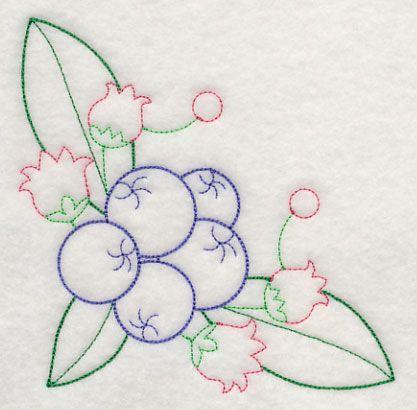 Estourando Blueberry Canto (Vintage)