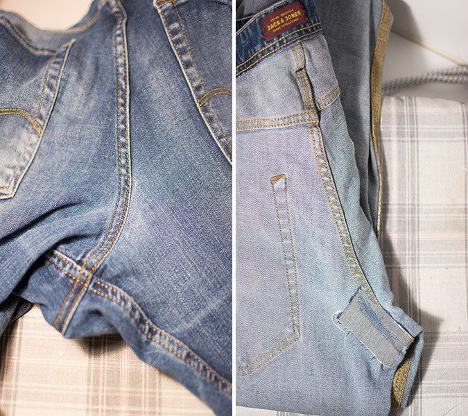 Mending your jeans the easy way!
