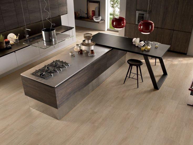 Las 25 mejores ideas sobre pisos imitacion madera en - Suelos de gres para cocinas ...