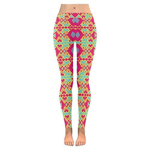 HX fashion Damen Leggings Gedruckt Gemustert Skinn…