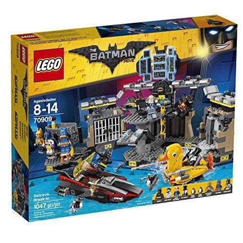 LEGO BATMAN MOVIE Batcave Break-in 70909 Building Kit, Lego Batman Toys, kids, toys, Lego, Lego sets