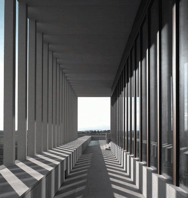 Gallery of the Museum of Literature - David Chipperfield
