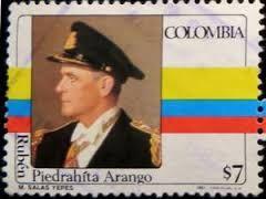 Militar y estadista antioqueño (Yarumal, septiembre 5 de 1910 - Bogotá, agosto 22 de 1979), miembro de la Junta Militar de Gobierno que asumió el poder después del derrocamiento del general Gustavo Rojas Pinilla, gobernó entre el 10 de mayo de 1957 y el 7 de agosto de 1958. [...] Retirado del servicio activo en 1958, fue embajador de Colombia ante el gobierno del Japón (1961 y 1970).