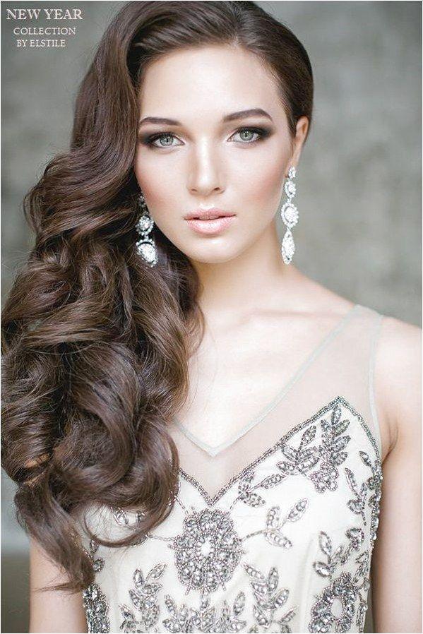 20 Gorgeous Half Up Wedding Hairstyle Ideas #StylesForWavyHair Click for further information