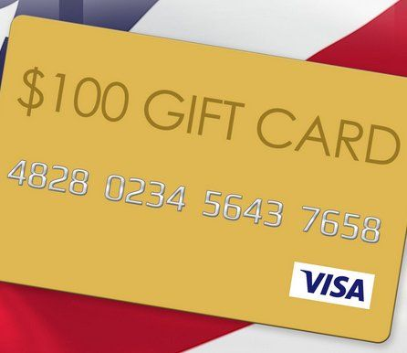 Enter for a chance to win a $100.00 Visa gift card. Feeling lucky? Enter the sponsor's Visa Gift Card Giveaway Promotion!