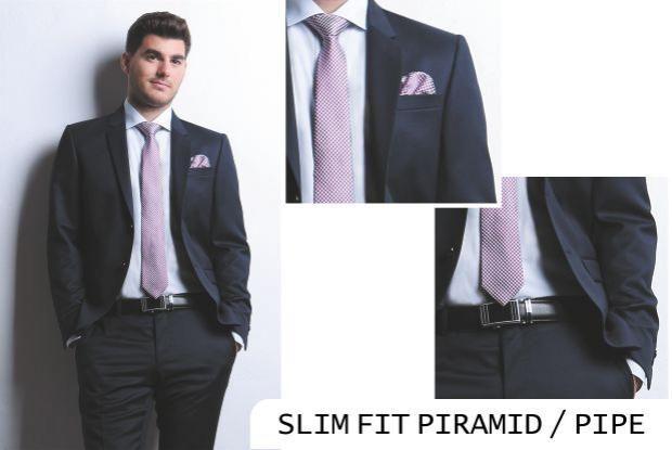 PIRAMID / PIPE | Seroussi -producător și distribuitor de costume bărbătești business / Slim Fit Slim fit business suit