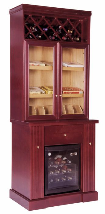 Definately a Man Cave must have.  Wine & Cigar Humidor