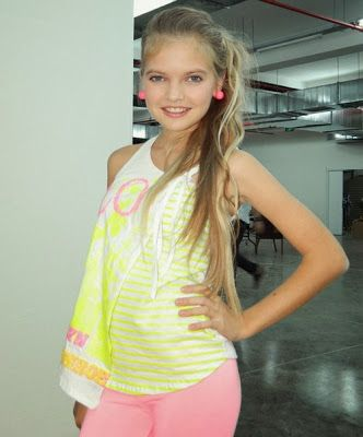 Russian teen model nike