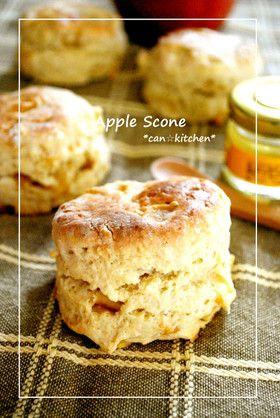 りんごのスコーン