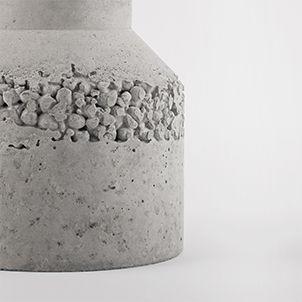 Kies in flüssigem Zement wälzen und dann eine Schicht oben einfülen?