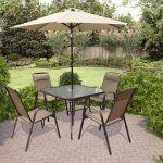 , CorLiving PZT 626 S Tilting Umbrella Patio Dining Set Available From Walmart Canada Walmart Patio Table Umbrella:
