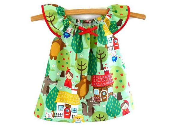 Girls dress  toddler dress  baby dress  girls fairytale
