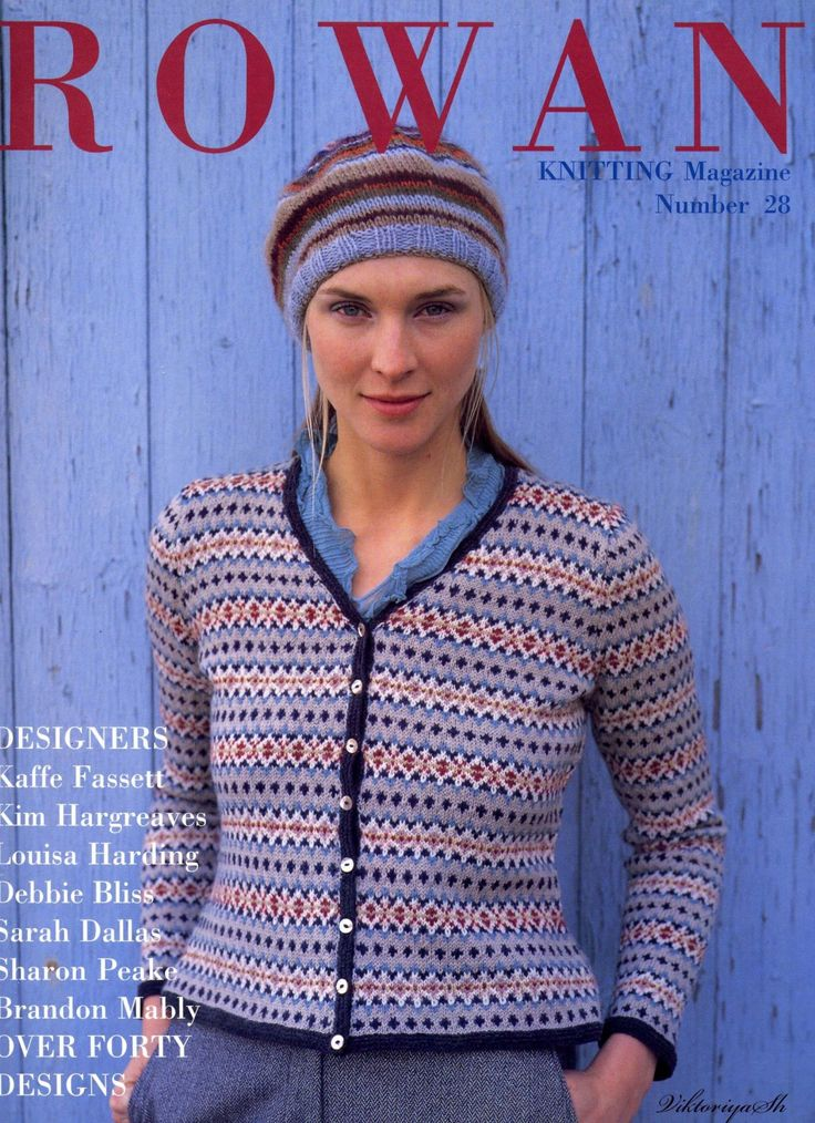 Rowan Knitting Magazine n° 28