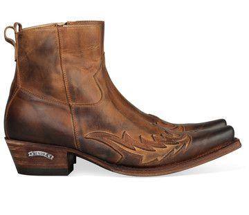 Boots for men: Bruine Sendra boots 11783 laarzen voor mannen! #cowboy #western…