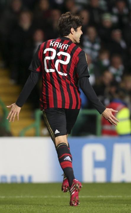 ~ Kaka of AC Milan against Celtic ~