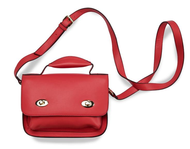 Bolso rojo para mujer.