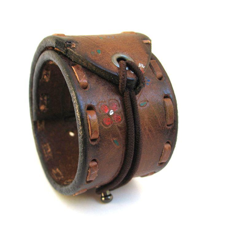 Cuff Belt Bracelet w/ Adjustable Elastic Closure