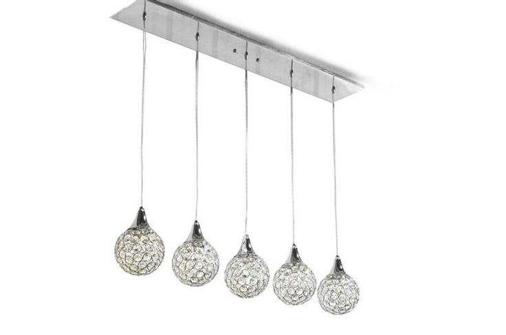 Lighting fixture to hang over the bar.