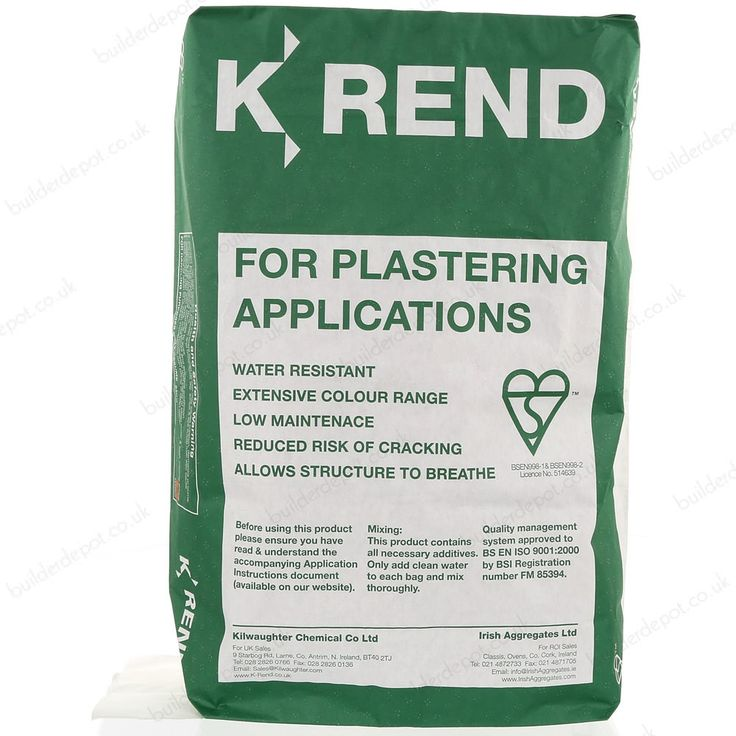 K Rend silicone white render is a cement based water repellent and polymer modified self-coloured render. K Rend silicone render is manufactured specifically with a water repellent agent that prevents water penetration, algae growth, lim