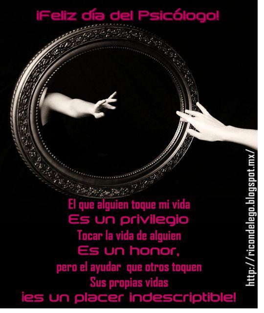 Rincón del Ego: ¡Feliz día del Psicólogo!