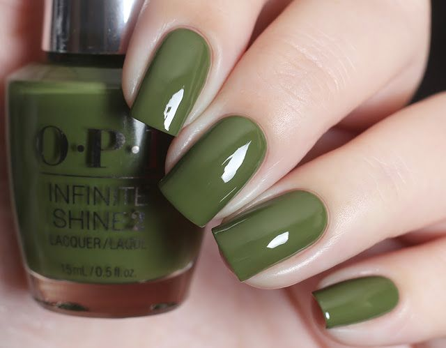 opi olive for green
