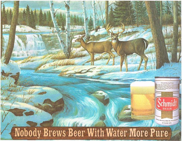 Placemats Schmidt Beer G. Heileman Brewing Co. La Crosse Wisconsin United States of America