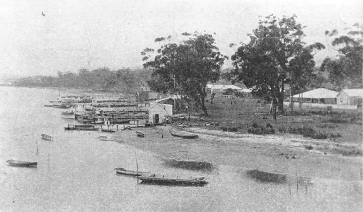 Woy Woy Channel, on the central coast of NSW . ca 1900. v@e