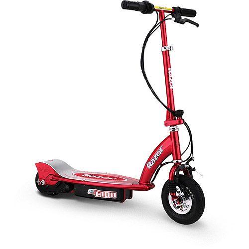razor e100 electric scooter multiple colors gift ideas. Black Bedroom Furniture Sets. Home Design Ideas