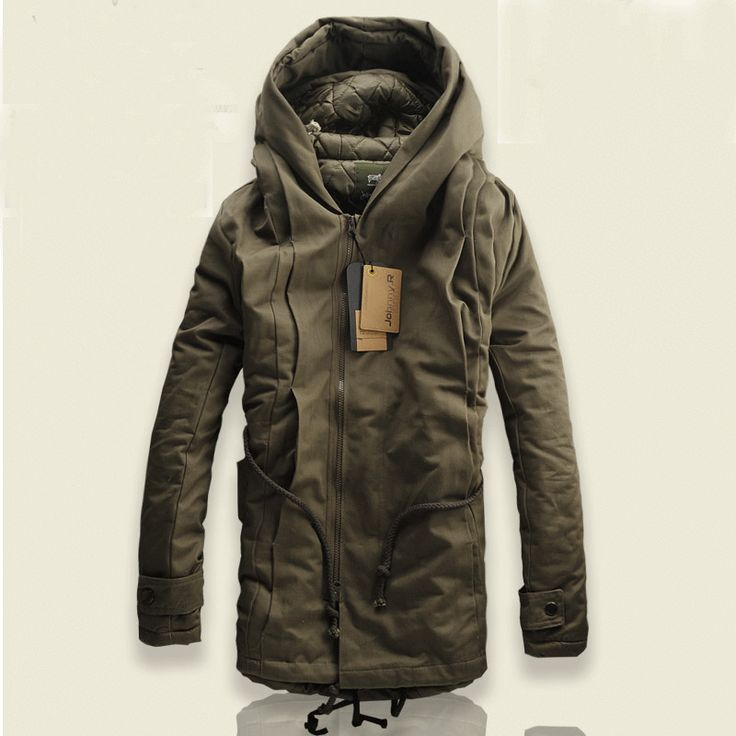 2013 NEW Winter Mens Military Trench Coat Ski Jacket