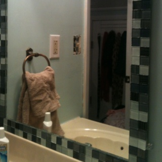 Bathroom Mirror Makeover Pinterest 15 best kirst bathroom images on pinterest | bathroom ideas, home