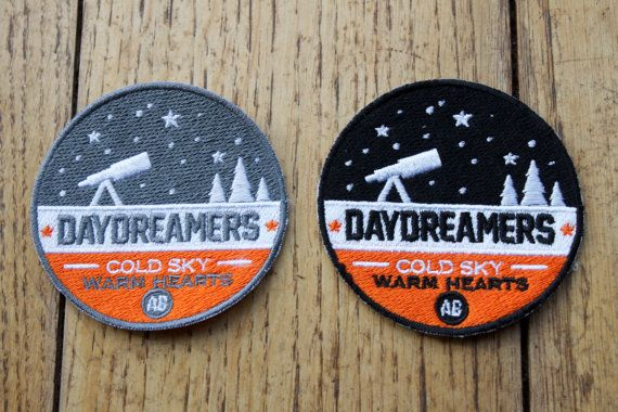 Daydreamers  Patch écusson à coudre par AnaisAbrams sur Etsy