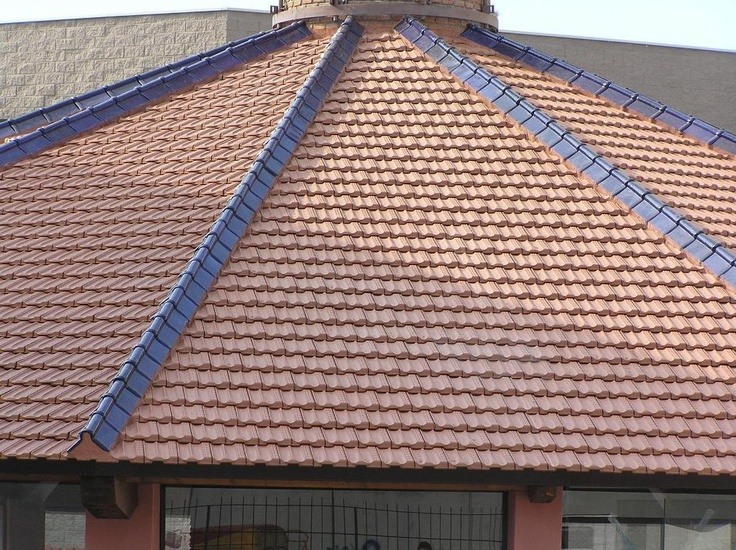 1000 images about terracotta roofing styles and designs for Flat tile roof