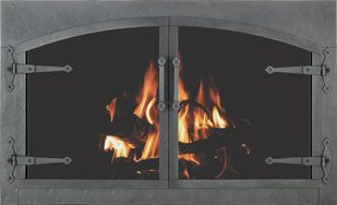 Zc Forged Gl Fireplace Doors Stoll Inc