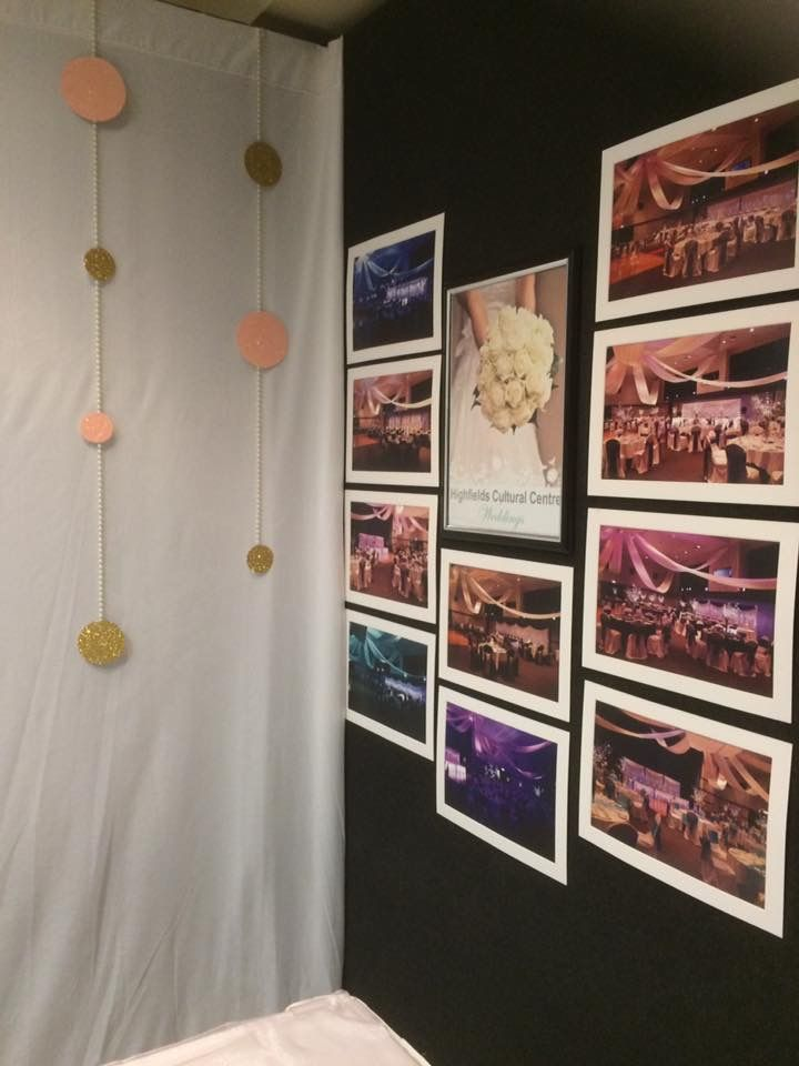 Highfields Cultural Centre, Wedding Expo set up