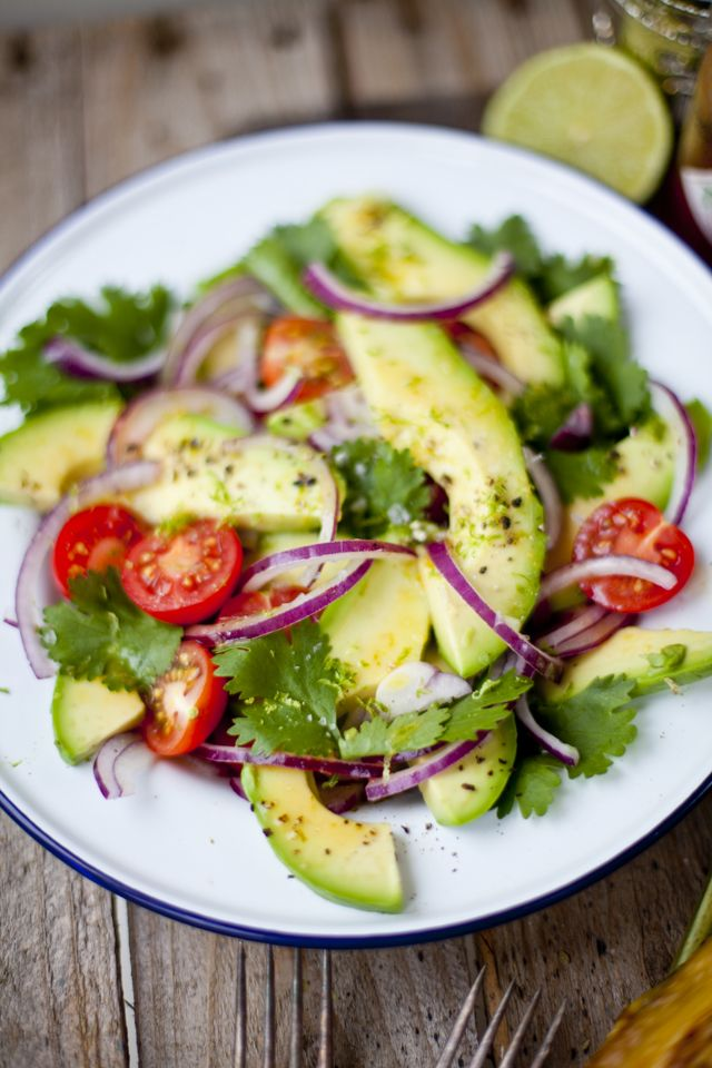 guacamole salad - honestly, I would eat this EVERY.DAY.