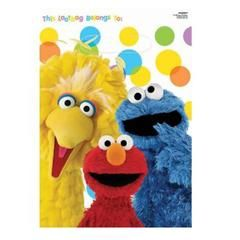 Sesame Street Cupcake Rings - Party Favors - Elmo, Big Bird, Cookie Monster, Abby Cupcake Toppers
