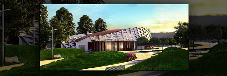 Modern Youth Center - Architecture Portfolio | Archviz