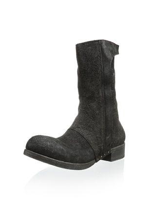 -45,800% OFF Alexandre Plokhov Men's Side Zip Boot (Black)