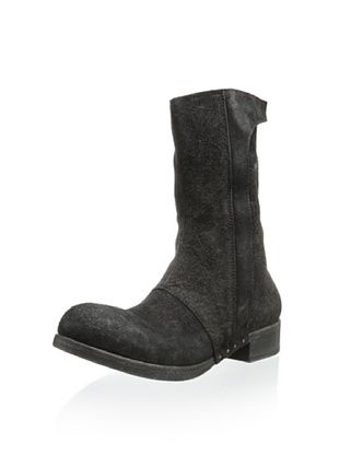 -45,800% OFF Alexandre Plokhov Men's Side Zip Boot (Black)