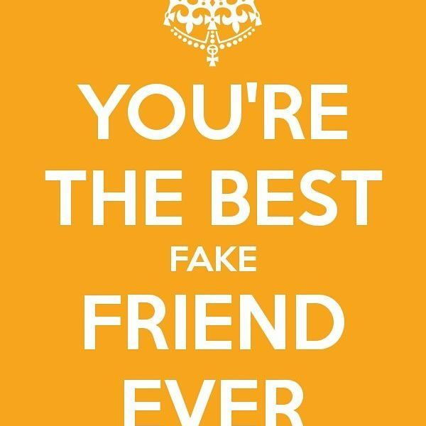 17 Best Fake Friend Quotes On Pinterest