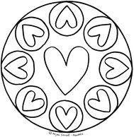 Mandala 6 Ausmalbilder Vorlage Mandalas Zum Ausdrucken Kinder Grundschule Klasse 1 Und 2 Mandalas Zum Ausdrucken Mandalas Kinder Mandalas