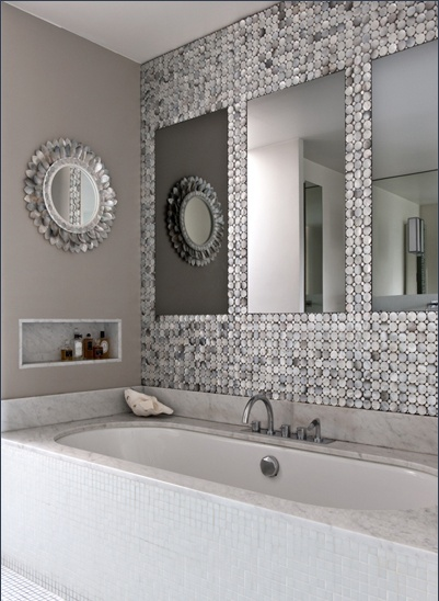 Glamorous bathroom splish splash for Glamorous bathroom designs