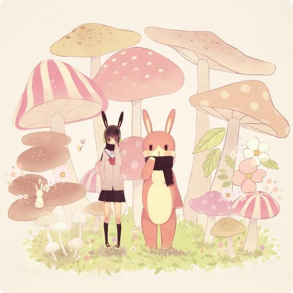 Down the rabbit hole: Mushrooms Pics, Illustrations Character, Rabbit Hole, Artists 297573, Arti Sztuczki, Easter Bunnies, Natural Mushrooms, Inspiration Mushrooms, Art Energy