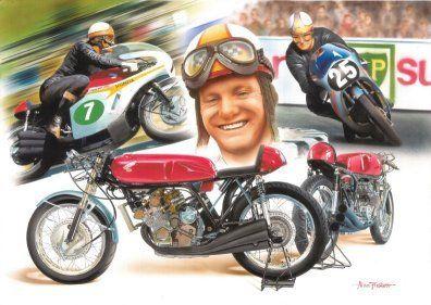 Mike Hailwood - Motorcycle Road Racing.
