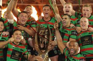 Season highlight: South Sydney claimed the 2014 NRL premiership.
