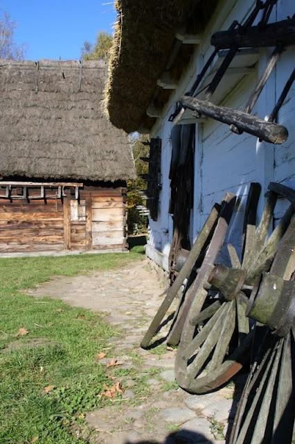 Rural cottages, Open Air Museum, Sierpc, Poland