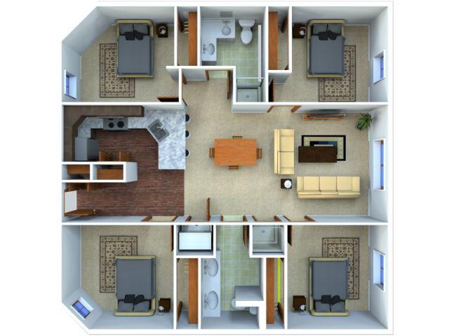 Future apartment layout